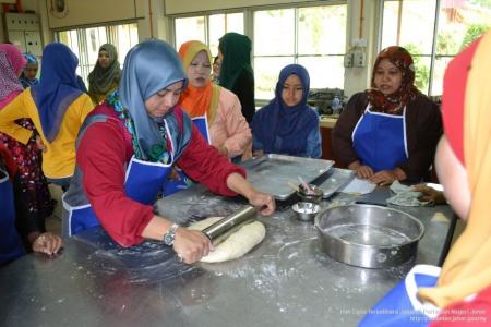 Kursus Pembuatan Roti dan Pastri