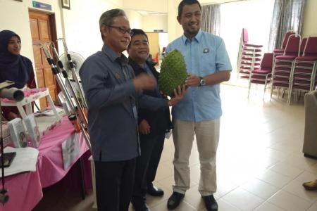 Lawatan YB Dr Sahruddin Jamal ke TKPM Pagoh