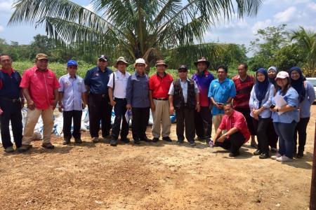 Lawatan Kerja Timbalan Ketua Pengarah Pertanian Pembangunan Industri dan Pembangunan ke daerah Segamat
