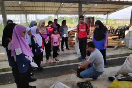 Pertanian Bandar SMK Uda Utama