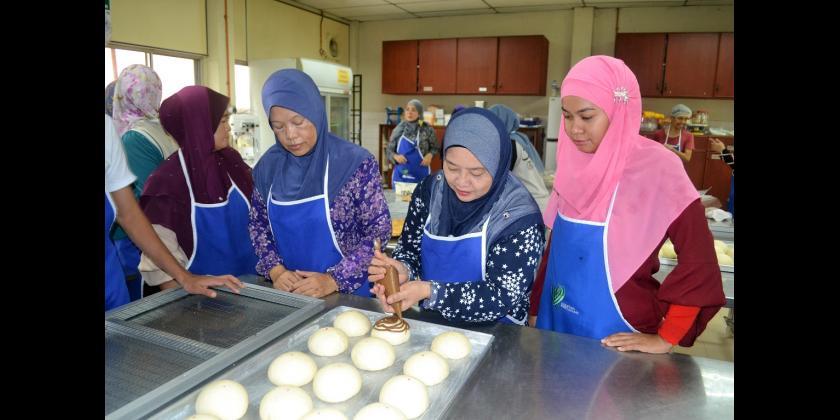 Kursus Asas Pembuatan Roti dan Pastri