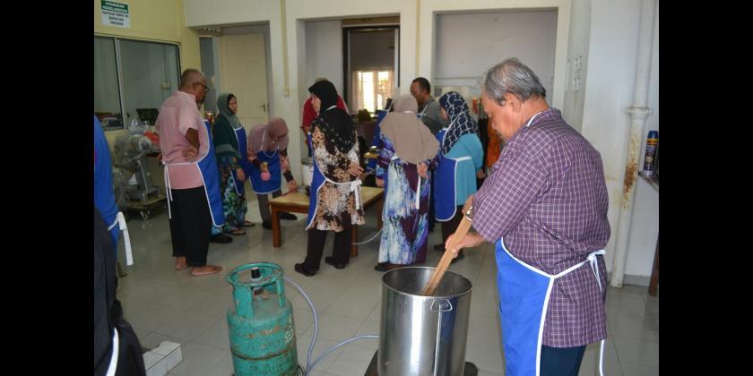 Kursus Pemprosesan Hasilan Kacang Soya dan Cincau