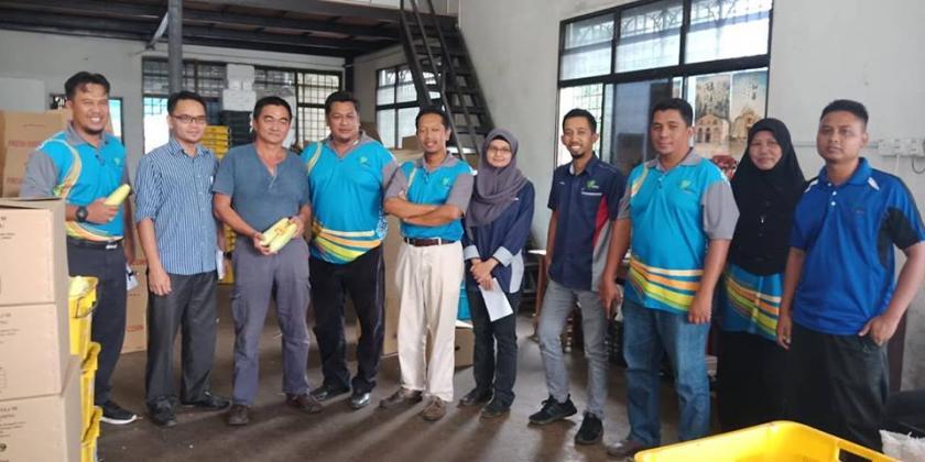 Pemantauan Projek Pembangunan Tahun 2018 Daerah Kluang