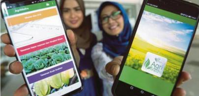 Aplikasi AgriMaths, 100 Tip Tanaman rujukan petani