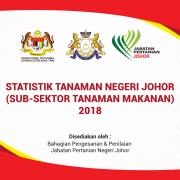 Statistik Tanaman Negeri Johor – 2018