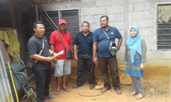 Projek Tanaman Pisang Kg Sri Dagang, Segamat