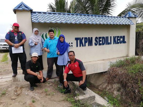 TKPM Sedili Kecil terima lawatan Pasukan Penanda Aras