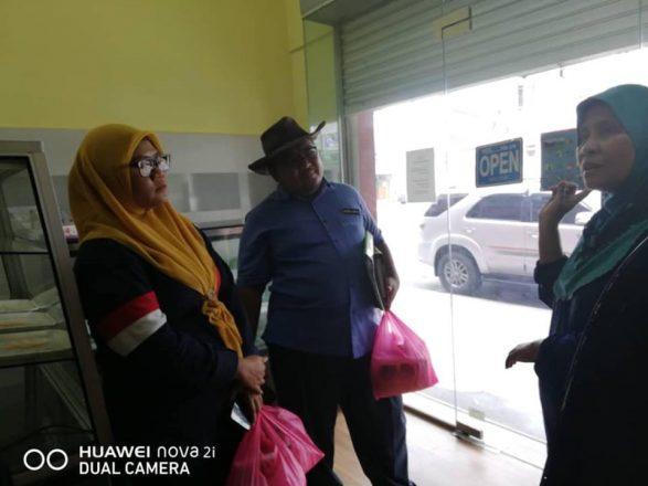 Pemantauan projek usahawan IAT Daerah Johor Bahru