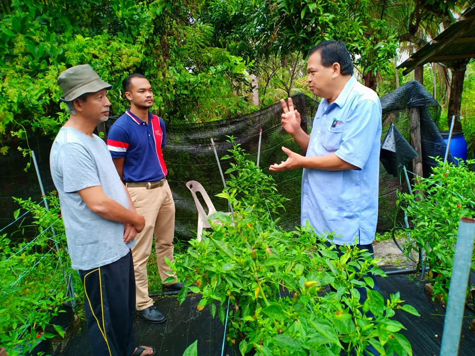Pemantauan Projek di bawah Peruntukan Negeri 2019 Daerah Mersing