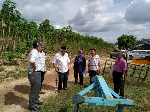 Lawatan Pemantauan Pegawai Pengurusan Tertinggi Jabatan Pertanian Malaysia