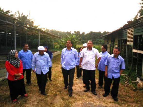 Lawatan kerja Timbalan Ketua Pengarah Pertanian (Pembangunan) ke daerah Tangkak