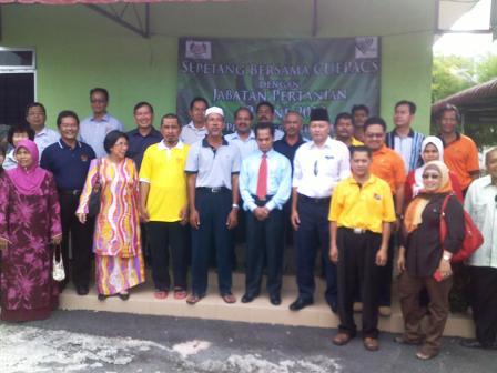 Sepetang Bersama CUEPACS dengan Jabatan Pertanian