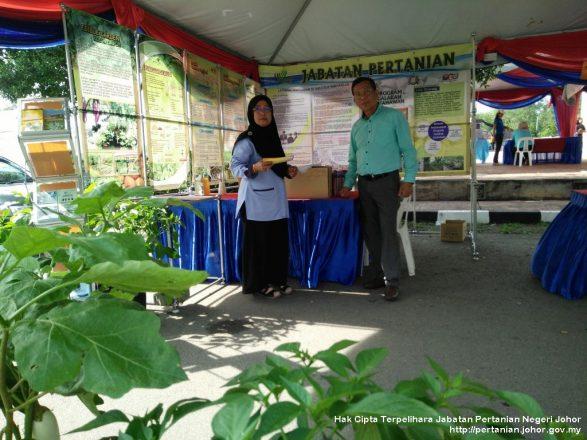 Pameran pertanian sempena Hari Belia Peringkat Negeri Johor