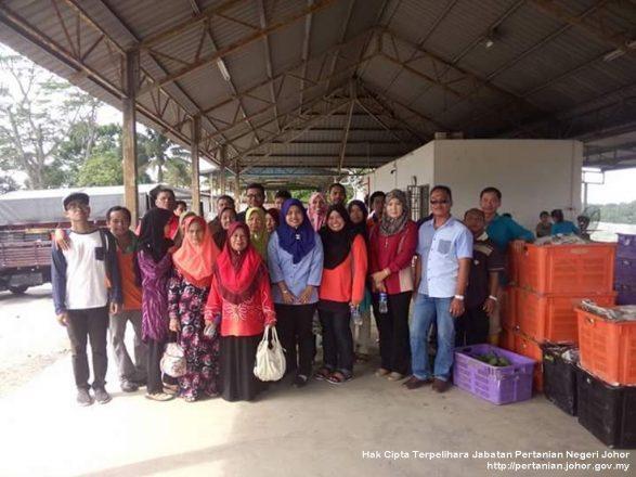 TKPM Ulu Tiram terima lawatan dari Petani & Pegawai Biosekuriti Perak