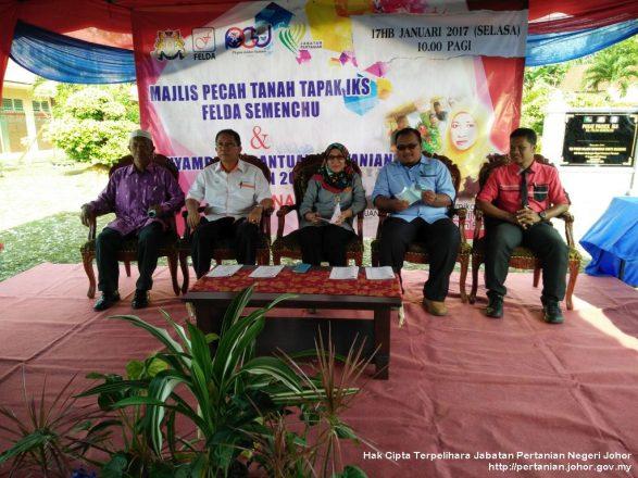 Majlis pecah tanah & penyampaian bantuan projek pertanian DUN Penawar