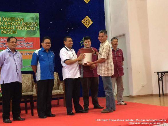 Majlis Penyampaian Peralatan PGU Fertigasi & Nutripot