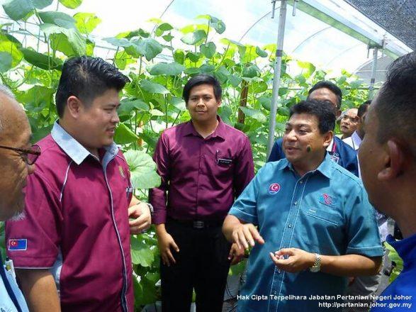 Lawatan EXCO Pertanian ke Lotus Fruit Farm