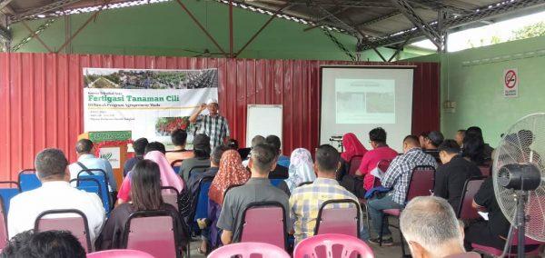 40 Agropreneur Muda sertai Kursus Asas Fertigasi
