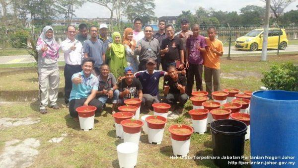 Program Pertanian Bandar di AADK Kota Tinggi