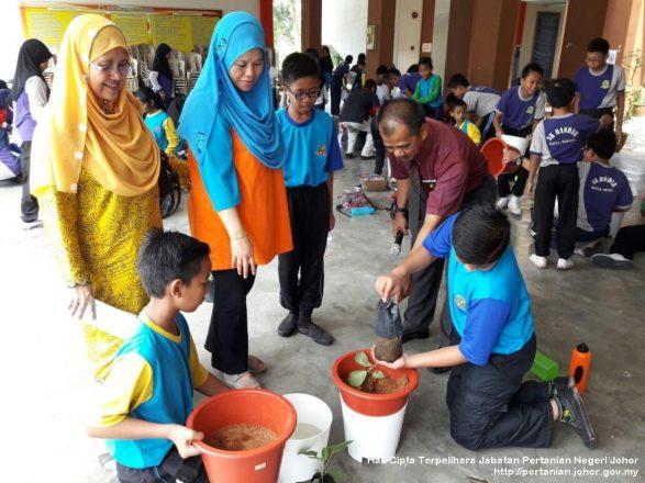 Program Pertanian Rakyat di SK Bandar