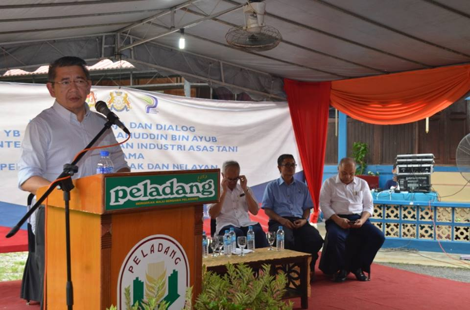 Dialog YB Menteri bersama Peladang, Penternak dan Nelayan Muar