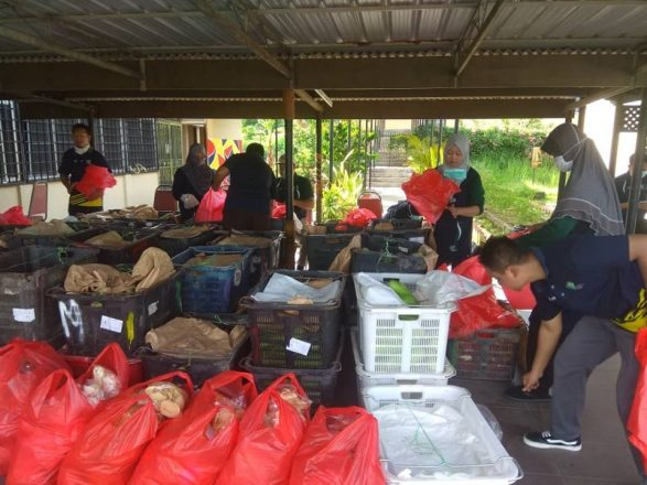 Bekalan sayur dan buah mencukupi sepanjang PKPD di Kampung Ibrahim Majid