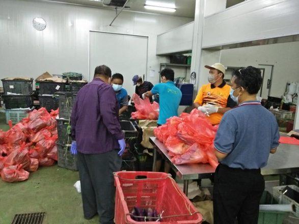 Pengarah Pertanian Johor pantau aktiviti pembekalan makanan penduduk terjejas COVID-19