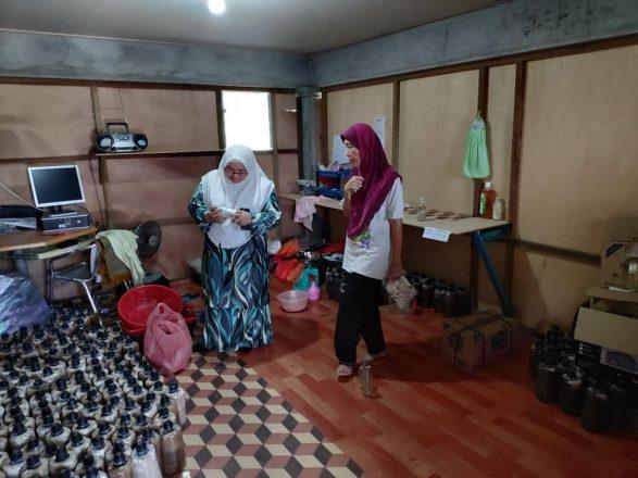 Projek Cendawan Tiram di Kg. Lama, Benut