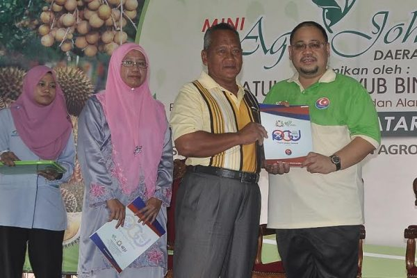 Mini Agro Johor Segamat membuka minda masyarakat