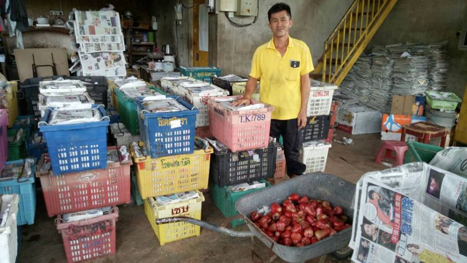 Lawatan projek pertanian daerah Tangkak