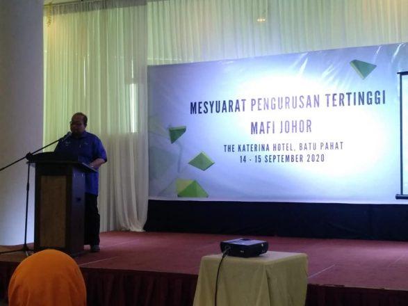 Mesyuarat Pengurusan Tertinggi Agensi dibawah MAFI Johor