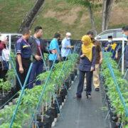 Lawatan Kerja Dan Perbincangan Cadangan Projek Inisiatif Khas Rektor UiTM Cawangan Johor 2020/2021 – 'UiTMCJ AGROPRENEUR HUB'