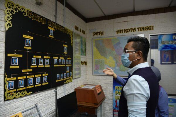 Pemantauan Timbalan Pengarah Pertanian (Pembangunan) ke Pejabat Pertanian Daerah Kota Tinggi