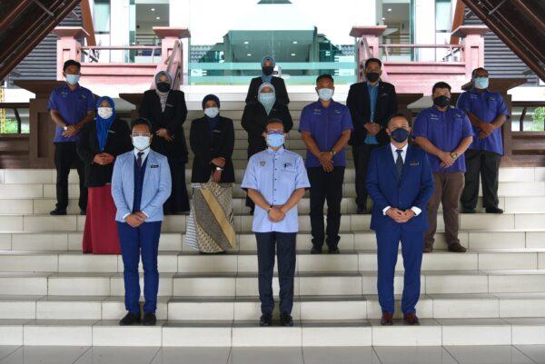 Perjumpaan YB Exco Bersama Pegawai Pertanian Jabatan Pertanian Negeri Johor