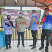 Lawatan Kerja YAB Menteri Besar Johor Ke Daerah Kluang