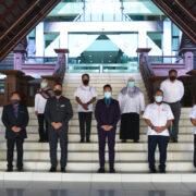 Kunjungan Hormat wakil FELDA Wilayah ke Jabatan Pertanian Negeri Johor