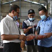 Lawatan Kerja YB EXCO Pertanian Johor Ke Pusat Perusahaan Saleh Food Industries Sdn Bhd