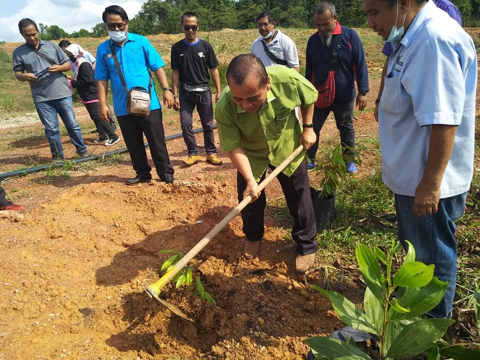 Segamat Menjadi Lokasi Ke-2 Program Lawatan Pengarah Pertanian Negeri Johor